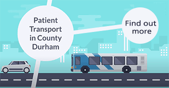 Patient transport in County Durham. Find out more.